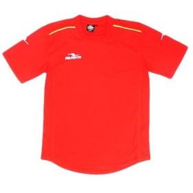 ダウポンチ(Dalponte) ダブルパイピング ゲームシャツ RED DPZ76 Tシャツ 半袖 ウェア サッカー フットサル