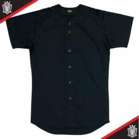 ユニフォームシャツ  ZETT ゼット ヤキュウソフトユニフォーム シャツ・M (BU1071-1900)