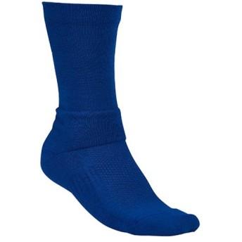 アンダーアーマー(UNDER ARMOUR) メンズ バスケ 靴下 UA バスケットボール ソックス クルー ヒートギア (400)ROYAL/TAXI 1295598 トレーニングウェア