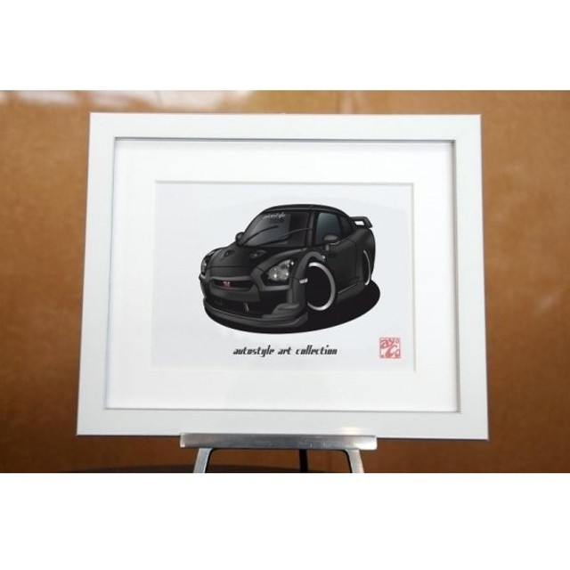 AutoStyle Art Collection NISSAN GT-R R35  メテオフレークブラックパール