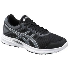 アシックス GEL-EXCITE 5 ブラック×カーボングレー asics TJG968.9097 マラソン、ランニング シューズ メンズ