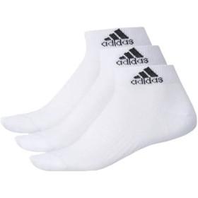 アディダス adidas メンズ&レディース BASIC 3P ショートソックス スポーツ 靴下 ソックス