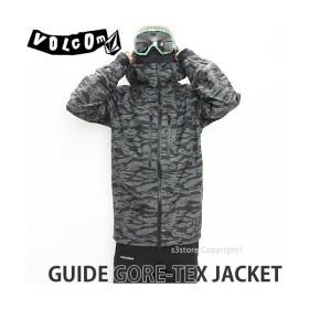 17 ボルコム ガイド ゴアテックス ジャケット ウエア VOLCOM GUIDE GORE-TEX JACKET 16-17 スノーボード スノボ メンズ WEAR Recco カラー:CAM