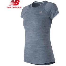 a4aca67367938 ニューバランス 半袖Tシャツ ランニング レディース AWT73233-VDH