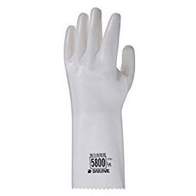 ダイヤゴム  DAILOVE 耐溶剤用手袋 ダイローブ5800Lw D5800LW [A060313]