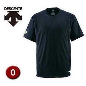 DESCENTE/デサント  DB202-BLK ベースボールシャツ(Vネック) 【O】 (ブラック)