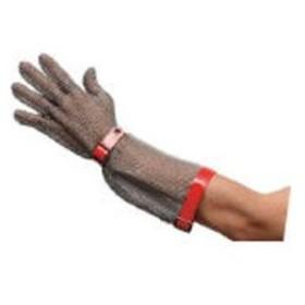 MIDORI ANZEN/ミドリ安全  ステンレス製 耐切創手袋ロングタイプ MST−550 M/MST-550-M