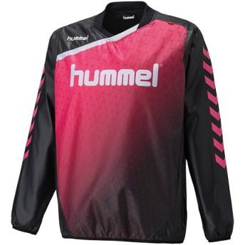 ヒュンメル(hummel) トライアル コート ブラック HAW4174 90 サッカー・フットサル・ハンドボール メンズ トレーニングウェア ウィンドブレーカー