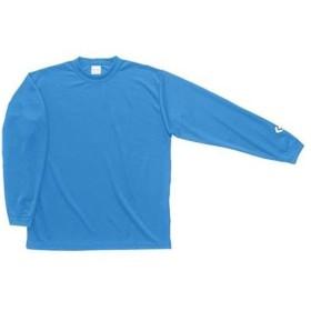 コンバース(CONVERSE) ロングスリーブシャツ(ジュニアサイズ) CB451324L 2200 サックス バスケットボール トレーニングウェア 長袖