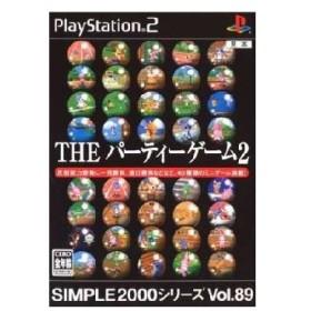 『中古即納』{表紙説明書なし}{PS2}SIMPLE2000シリーズ Vol.89 THE パーティーゲーム2(20051110)