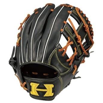 ハイゴールド HI-GOLD 己極シリーズ 軟式用グラブ 内野手用 野球 軟式 グローブ 二塁手用 遊撃手用