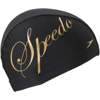 スピード(speedo) トリコットキャップ F SD98C37 GD ゴールド スイムキャップ 水泳帽