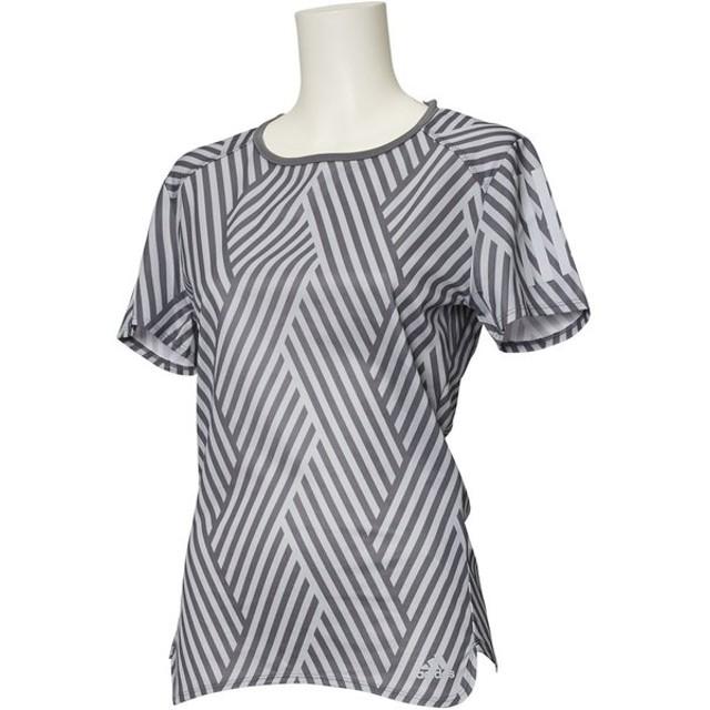 d6ed757bae33e アディダス (レディース ランニングウェア) RESPONSE グラフィックTシャツW adidas ...