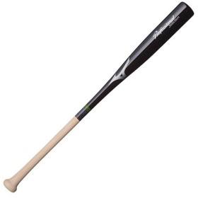 ミズノ(MIZUNO) キッズ 野球 少年野球用 プロフェッショナル 木製バット 80cm ブラック YT25 1CJWY10380 軟式 ジュニア