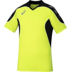 アシックス  セーフティイエロー asics XS6090 05 サッカー、フットサル ウエア シャツ