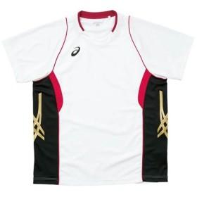 アシックス(asics) ゲームシャツHS XW1314 0124 バレーボール ウェア ユニフォーム 半袖