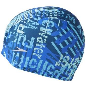 スピード(speedo) トリコットキャップ (F)フリーサイズ SD97C64 DI ディープインディゴ スイムキャップ 水泳帽