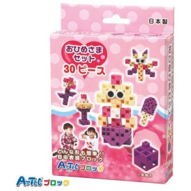 Artec アーテック ブロック おひめさまセット 30ピース 知育玩具 おもちゃ 子供 キッズ プレゼント 贈り物 アーテック  76662