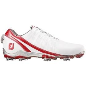 ゴルフシューズ DNA Boa ホワイト/レッド 53302 フットジョイ 靴 シューズ ゴルフ用靴 おしゃれ