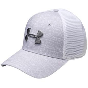 アンダーアーマー(UNDER ARMOUR) スレッドボーンクラシック メッシュキャップ UA TB Classic Mesh Cap 941:OVC/WHT/RGY LG/XL 1305017 ゴルフウェア 帽子