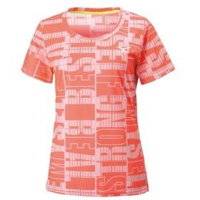 ミズノ MIZUNO レディース グラフィックTシャツ スポーツ フィットネス 半袖 Tシャツ