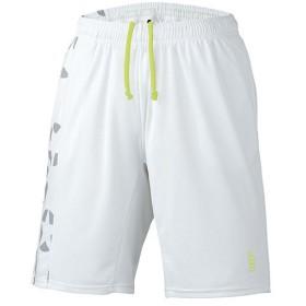 ゴーセン(GOSEN) テニス 星柄ゲームパンツ ホワイト PP1802 30 テニスウェア バドミントンウェア ショートパンツ ボトムス メンズ レディース
