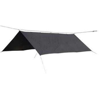 ブッシュクラフト(Bush Craft) ORIGAMI TARP 4.5×3 ブラックステッチ 400×290cm 02-06-tent-0013 タープ キャンプ アウトドア サバイバル 野営