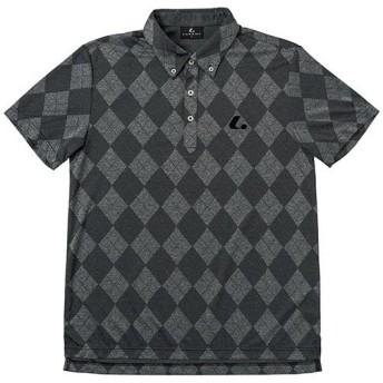 ルーセント(LUCENT) メンズ レディース テニス ゲームシャツ ブラック XLP8359 BK テニスウェア ソフトテニスウェア トレーニングウェア ユニセックス