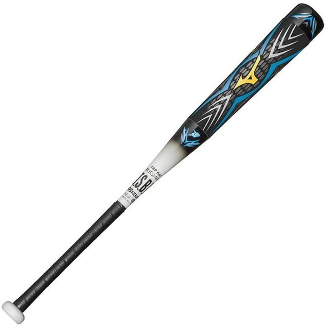 ミズノ 少年軟式用FRP製 ビヨンドマックス オーバル ブラック×ホワイト Mizuno 1CJBY11879 0901 野球 バット 軟式