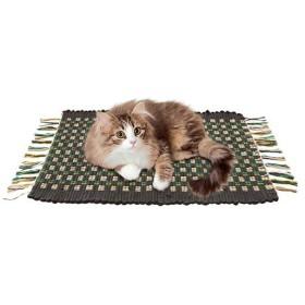 ドギーマンハヤシ キャットスクラッチマットコットン 猫用品 猫用玩具 爪磨き 猫用品 ペット用品