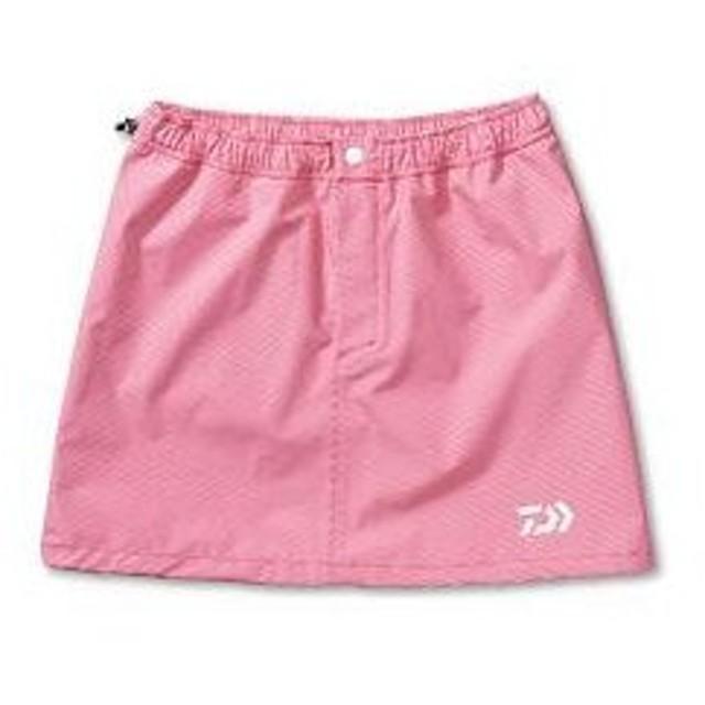 ダイワ レインマックス 100 レインスカート DA−9101 ピンクチェック (釣女)