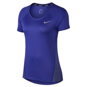 ナイキ NIKE レディース DRI-FITマイラーフラッシュS/Sトップ スポーツ フィットネス 半袖 Tシャツ