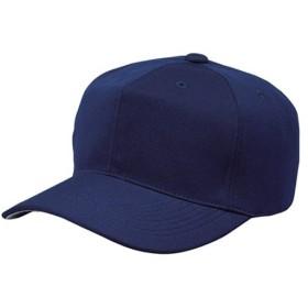 エスエスケイ(SSK) 角ツバ6方型ベースボールキャップ BC062 ネイビー 野球 帽子