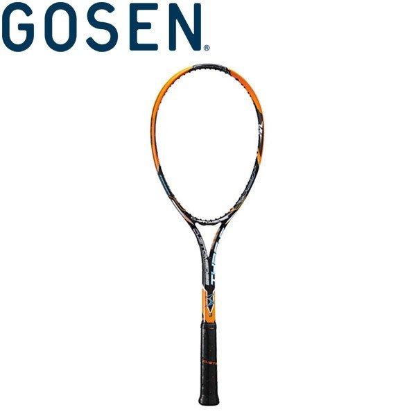 ゴーセン 軟式テニスラケット (フレームのみ) カスタムエッジ