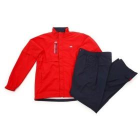フィドラ(FIDRA) ゴルフウェア メンズ  レインウェア  上下セット FA160940 RED  《B》 (Men's)