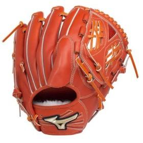 ミズノ(MIZUNO) 野球 グローブ 硬式用 ゴールデンエイジ 投手用 サイズGA10 52/スプレンディッドオレンジ 1AJGL18001 ピッチャーミット ジュニア 10〜14歳