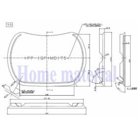 トクラス (旧ヤマハ) システムキッチン G2 H2 排水装置蓋 排水ふた 各色 品番 WPLMBHFT09DE