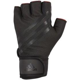 アディダス(adidas) エリート トレーニング グローブ ブラック Lサイズ ADGB-14225 トレーニング用品 手袋 筋トレ ウエイトトレーニング オープンフィンガー