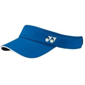 ヨネックス(YONEX) ウィメンズサンバイザー ディープブルー 40040 566 テニス・バドミントン 帽子 サンバイザー レディース