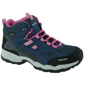 TrekSta トレクスタ FP-0401MID GTXライト/NB/PK 974 /225 EBK166 ネイビー 登山靴 トレッキングシューズ アウトドア 釣り 旅行用品 トレッキング用