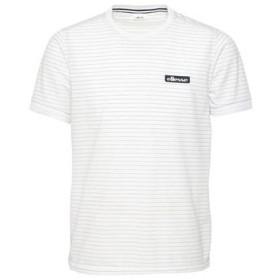 エレッセ ellesse メンズ ボーダークルー スポーツ テニス 半袖 Tシャツ