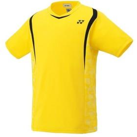ヨネックス(YONEX) ユニセックス Tシャツ(フィットスタイル) ライトイエロー 10209 279 テニスウェア テニス・バドミントン メンズ レディース 半袖