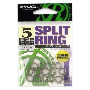 ささめ針 RYUGI スプリットリング ZSR041 #5【ゆうパケット】