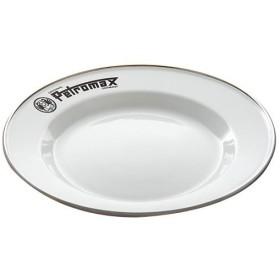 ペトロマックス(Petromax) キャンプ 食器 エナメルプレート(2枚入り)ホワイト 12895 バーベキュー 皿 軽量 アウトドア