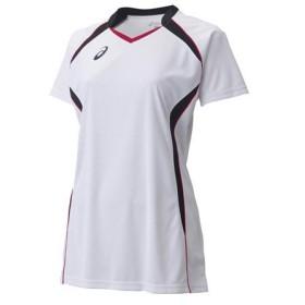 アシックス asics レディース W'SゲームシャツHS バレーボール ウエア 半袖シャツ