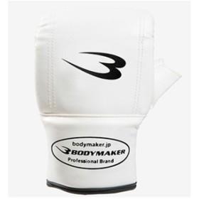 ボディメーカー(BODYMAKER) パンチンググローブSTD KG020 ホワイト 格闘技 アクセサリー グローブ