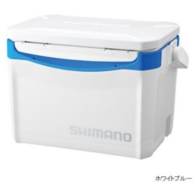シマノ ホリデークール 260 LZ-326Q ホワイトブルー クーラーボックス
