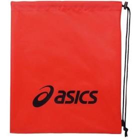 アシックス(asics) ライト バッグ M レッド×ブラック EBG441 2390 スポーツバッグ リュックサック ジムバッグ 鞄