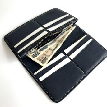【即納品】ロングウォレット/長財布(小銭入れ付)ver.1 牛革
