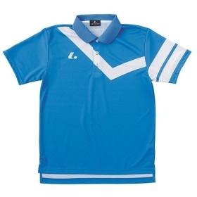 ルーセント(LUCENT) メンズ レディース ジュニア テニス ゲームシャツ ブルー XLP8317 BL テニスウェア ソフトテニスウェア トレーニングウェア ユニセックス